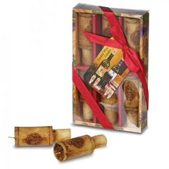 Merlot-Scented Wine Cork Candle Gift Set