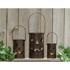 3/Set, Jack-O-Lantern Luminary