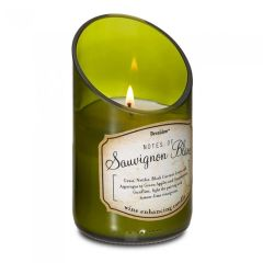 Wine Bottle Scented Candle - Sauvignon Blanc