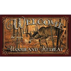 Deer Welcome Mat
