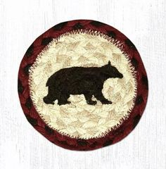 Cabin Bear Coaster Set