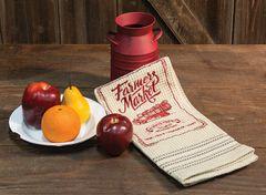 Farmer's Market Dish Towel, 20x28