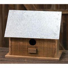 Metal Roof Birdhouse
