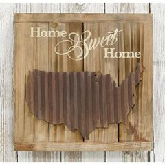 Home Sweet Home Slat Sign
