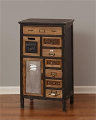 Cabinet - 8 Drawers, Door