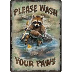 Wash Your Paws Sign