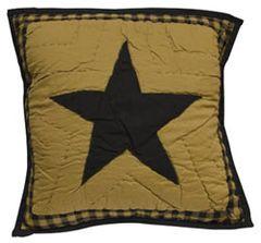 DelawareQuilted Star Sham