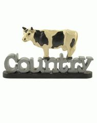 COUNTRY' W/COW