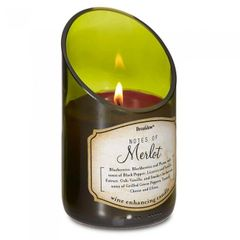 Wine Bottle Scented Candle - Merlot