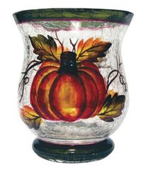 VOTIVE HOLDER-AUTUMN HARVEST