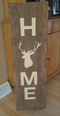 Home Deer Sign