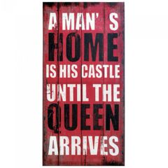 Queen of the Castle Canvas Wall Art