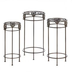 Western Horseshoe Plant Stand Trio
