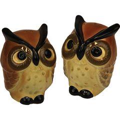 Owl Salt & Pepper Shaker