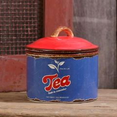 Retro Ceramic - Tea Canister
