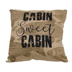 Cabin Sweet Cabin Pillow