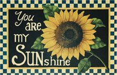 Sunflower Floor Mat