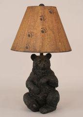 Sitting bear table lamp