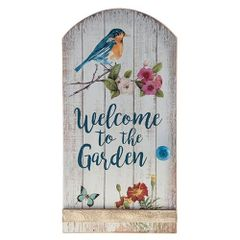 Welcome to the Garden Sign