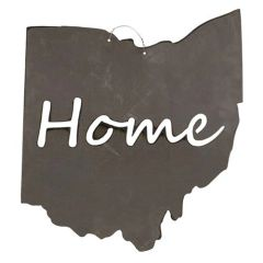 "Metal Ohio w/""Home"" Cutout"
