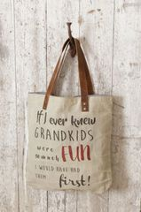 Handbag - Vintage Canvas If I Ever Knew