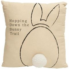 Bunny Trail Pillow