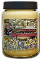 Covered Bridge Jar Candle