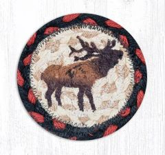 Winter Elk Coaster Set