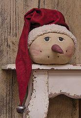 Vintage Snowman Head