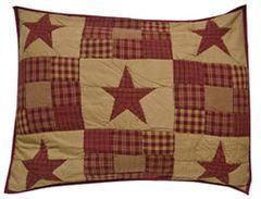 Ninepatch Pillow Sham, 21x27