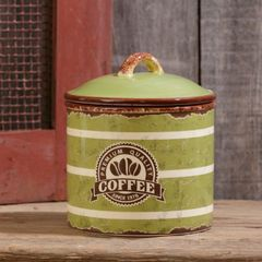 Retro Ceramic - Coffee Canister