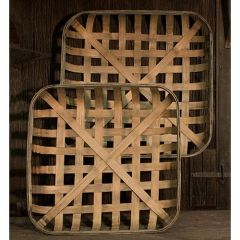 2/Set, Square Tobacco Baskets