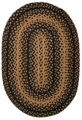Braided Ebony Rug, 20x30