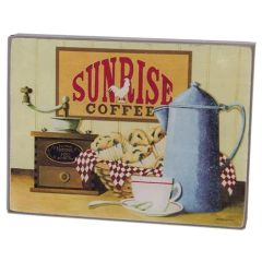 Sunrise Coffee Box Sign