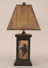Bear in tree Lamp