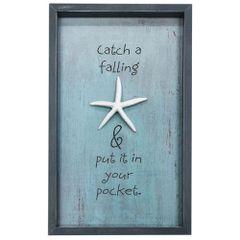 Falling Star Framed Sign
