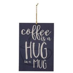 Hug in a Mug Tag Sign