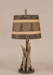 Stick A-Lamp w/Round Base