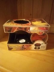 Autumn Harvest Wax Warmer Set