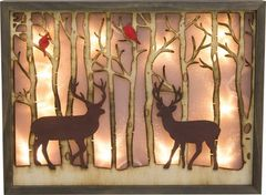 Winter Wood Cutout Lightup