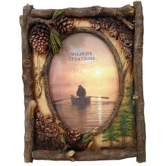 Pine Cone Picture Frame
