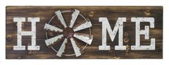 FARM CHIC WINDMILL HOME SIGN