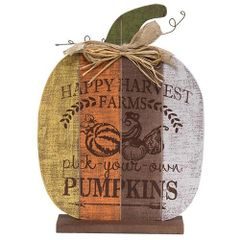 Happy Harvest Farms Pumpkin - Tall