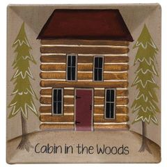 Cabin in the Woods Plate