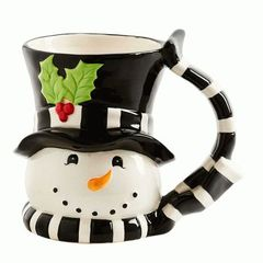 6 Inch Snowman Mug