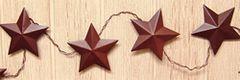 Rusty Star Garland - 3' (Large)