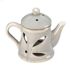 Ceramic Teapot Oil Warmer