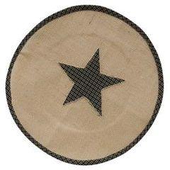 Star Round Mat