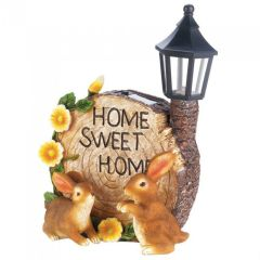 Home Sweet Home Solar Light-Up Garden Decor