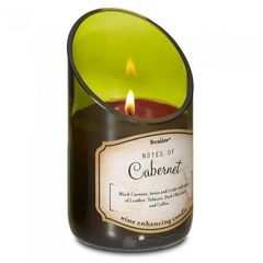 Wine Bottle Scented Candle - Cabernet